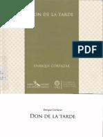 Cortazar, Enrique Don de La Tarde