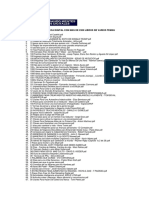 Lista de La Biblioteca Digital Con Mas de 2300 Libros de Varios Temas