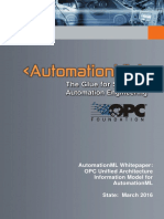 AutomationML Whitepaper - OPCUAforAutomationML_Mar2016