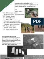 METODOLOGÍA DE INVESTIGACIÓN VERTEBRADOS II. UAGRM-LIC. ROSALENY