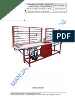 Manual de bancada de mecânica dos fluidos
