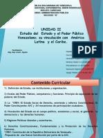 LAMINAS UNIDAD II Estudio Del Estado y El Poder Público Venezolano