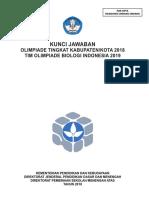 2018 Kunci OSK Biologi Folder OSN