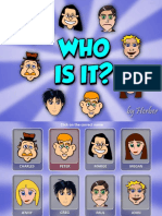 Who is It Ppt Fun Activities Games Games Reading Comprehension e 40532