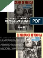 Constantino Parente - El Mercader de Venecia de William Shakespeare, Amor, Dinero y Carne de Cerdo, Parte II