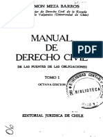 Meza Barros, Ramon - Fuente de las Obligaciones TOMO I.pdf