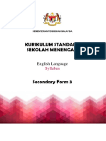 Form 3 Book syllabus