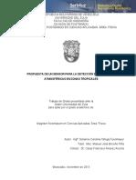 PROPUESTA DE UN SENSOR PARA LA DETECCIÓN DE DESCARGAS ATMOSFERICAS EN ZONAS TROPICALES