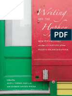 Torres-Padilla, José L. and Carmen H. Rivera - Writing Off the Hyphen ~New Critical Perspectives on the Literature of the Puerto Rican Diaspora~ (UWP, 2008)