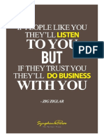 People Don't Follow a Product or Business. People Follow People They Know, Like, And Trust.