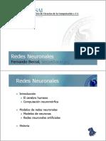 Redes Neuronales - Fernando Berzal