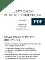 Budaya Dalam Perspektif Antropologi