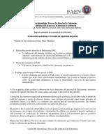 PAE-Reporte de Presentación de PAE Dado Por Docente de Aula en Forma de Preguntas