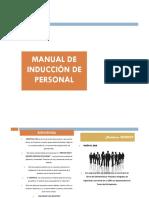 Manual Induccion de Personal