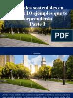 Yammine - Ciudades Sostenibles en España, 10 Ejemplos Que Te Sorprenderán, Parte I