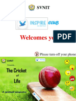 Cricket of Life_ppt