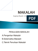 Menulis Makalah-1