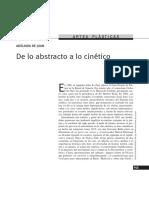 Adelaida de Juan - De Lo Abstracto a Lo Cinético