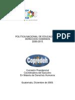 Política+Educación+Derechos+Humanos+2006-2015