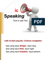 7. Materi Public Speaking