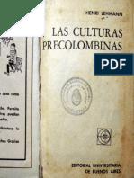 Henri Lehman - Las Culturas Precolombinas.pdf