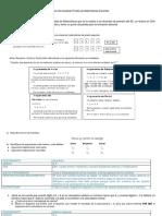 Análisis de Resultado Prueba de Matemáticas Docentes