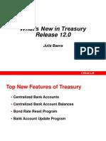 Treasury information
