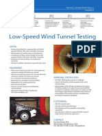 Low Speed Wind Tunnel Testing 20170519145206