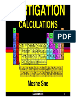 Fertigation Calculations 2013
