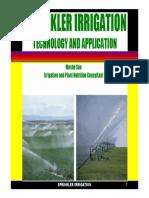 Sprinkler Irrigation Nov 2014
