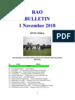 Bulletin 181101 (HTML Edition)