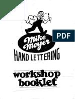 Mike Meyer Workshop Booklet