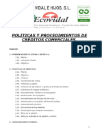 Politica Creditos Comercialesx