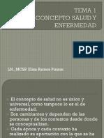 1. Concepto Salud y Enfermedad