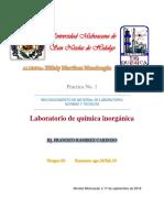 Practica1.Laboratoriode Quimica Inorganica.