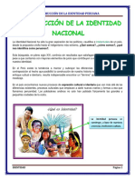 Construcción de La Identidad Peruana