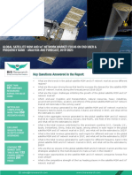 Global Satellite M2M and IoT Network Market