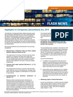 KPMG Flash News Highlights on Companies (Amendment) Act 2015