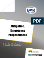 35 Control Mitigation Emergency Preparedness