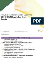 TSDK - LTE Optimisation Learning v.3