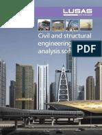 LUSAS Civil & Structural Brochure Email Version
