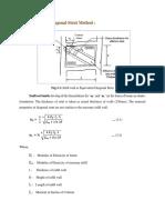 Procedure_Equivalent Diagonal Strut