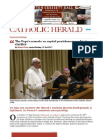 Article The Pope about Death Penality