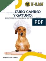 Recetario Canino y Gatuno - U-Can