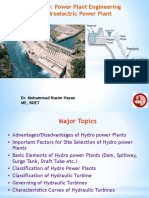 Hydro Power Plant lecture