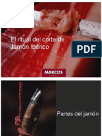 El Ritual Del Corte de Jamón Ibérico - Marcos Salamanca