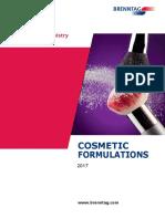 Brenntag - Cosmetics Formulations (Brochure - 2017)
