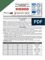 HS900 Install