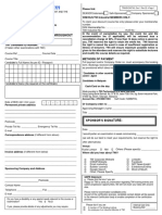 Seasep Enrolment Form