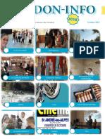 Le journal PDF du mois d'octobre Association Verdon info